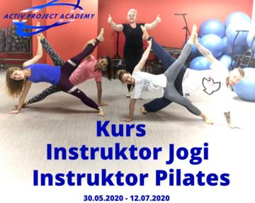 kurs instruktorski joga pilatess