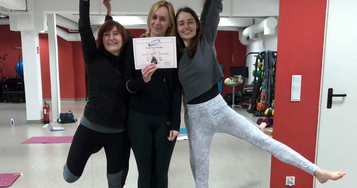 Kurs Instruktorski Jogi i Pilates 01.02-08.03.2020